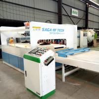 China High Frequency HF Wood Board Joining Machine For Wood Panel Edge Joining SAGA on sale