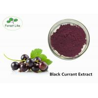 Buy cheap Anthocyanin Extract / Black Currant Extract Powder 5% Anthocyanins Protect Eye product