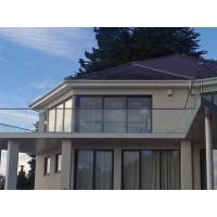 Buy cheap Aluminum U channel Outdoor Frameless glass balustrades system product