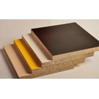 Buy cheap Standard Size Melamine Laminated Particle Board For Furniture Construction 1220*2440mm product