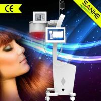 China wholesale--2016 New Laser + LED hair loss treatment hair regrowth/hair steamer cap on sale