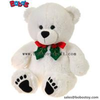 "Buy cheap 11""White Xmas Soft Plush Teddy Bear Christmas Toy product"