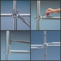 Heavy Duty Construction Ringlock system Scaffolding be widle used  in construction/Industrial maintaince