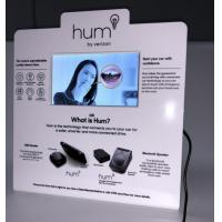 Buy cheap Acrylic/Cardboard Counter Top Pop Display with 7 Inch Video LCD Screen TV Monitor product