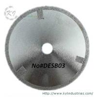 Quality Electroplated Cutting Blades - DESB03 (Straight protective teeth) for sale