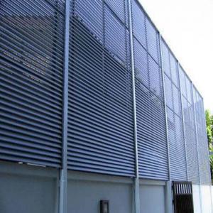 Buy cheap Building Shutters Aluminium Sun Vertical Shade Louvres product