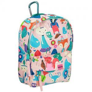 Buy cheap Flower Printed Custom Logo Backpacks Womens Travel Rucksack For Storage product