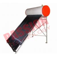 Quality Flat Roof Thermosiphon Solar Water Heater Copper Pipe Anti Corrosion Material for sale