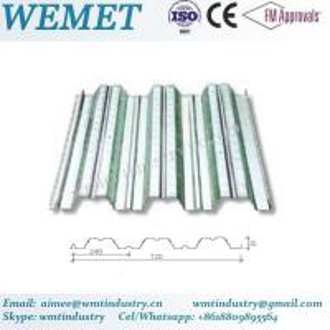 Buy cheap Steel floor deck for steel structure building WMT 51-240-720 product