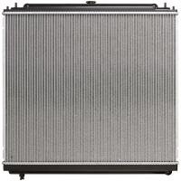 Quality OEM 21460 EA215 Tube Fin Core Nissan Frontier Radiator With Plastic Tank DPI for sale