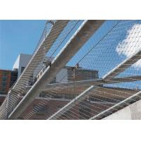 Buy cheap Classical Stainless Steel Ferrule Rope Mesh Lightweight For School Playground product
