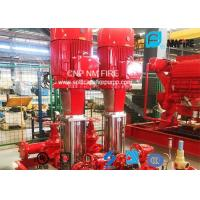 Buy cheap Multistage Booster Fire Jockey Pump 75GPM For Firefighting , NFPA20 GB6245 Listed product