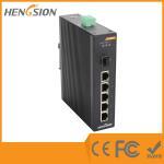 Buy cheap 5 Megabit TX Port / 1 Gigabit SFP FX 5 Port Industrial Ethernet Network Switch / 5 Port Poe Switch product