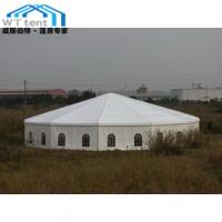 Buy cheap Commercial Multi Sided Tent / Outdoor Hexagonal Marquee With Glass Walls product