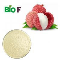 Buy cheap Organic Freeze Dried Fruit Powder Lychee Powder With Vitamins Solvent Extraction product