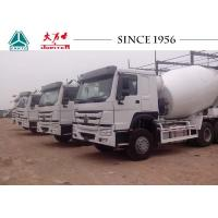 Buy cheap 8 M³ Capacity HOWO Concrete Mixer Truck 10 Wheeler For Construction Industrial product