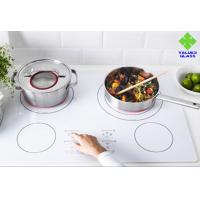 Buy cheap 3mm 4mm 5mm Ceramic Glass Panels For Cooker 750 Degree Heat Resistance product