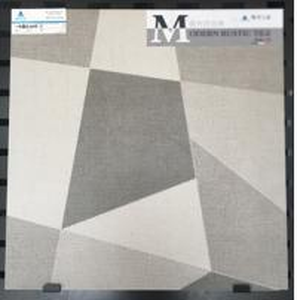 Buy cheap 600x600mm Inkjet Ceramic Tile In Bathroom , Custom Made Grey Ceramic Floor Tile product