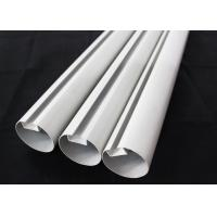 Buy cheap Aluminum Round Tube Kitchen Ceiling Tiles Suspended Metal , 75mm Dia product
