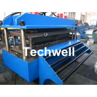 Buy cheap Polyurethane Sandwich Panel Production Line For Color Steel With PLC Touch Screen Control product