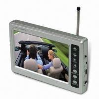 Buy cheap Portable ATSC Digital TV with 4.3-inch TFT LCD and Integrated Rod Antenna, Measures 131 x 81 x 18mm product