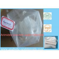 Buy cheap AI  Arimidex / Anastrozole Anti Estrogen Steroids CAS 120511-73-1 Prevent Water Retention product