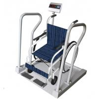 Buy cheap 300kg Capacity Hospital Dialysis Wheelchair Weight Scale With Printer product