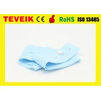 China Medical Equipment Fetal Monitoring Belts Disposable CTG Straps , Blue Color wholesale