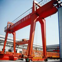 Buy cheap 100 Ton Double Girder Gantry Crane / Rail Mobile Container Gantry Crane product