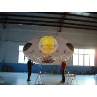 Buy cheap 3.5*2m Reusable Inflatable Advertising Oval Balloon,0.18mm helium quality PVC with Two side printing for opening events product