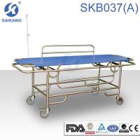 Buy cheap Hospital Furniture:Patient Trolley.SKB037(A) Stainless Steel Patient Trolley product
