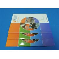 Buy cheap Full Color Saddle Stitch Book Printing Service With Perfect Binding A6 product