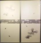 Buy cheap CY-ZG2307A Decorative Glass Sliding Closet Door, Modern Wardrobe Sliding Door With Aluminum Frames Factory product