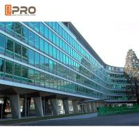 Buy cheap Facade Reflective Glass Invisible Aluminium Curtain Wall For Building Exterior product