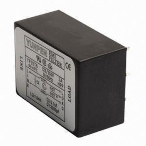 Buy cheap Filtro para iem com resistência de isolação YF01T6 da C.C. dos conectores e 100mΩ do mínimo do IEC 250V product