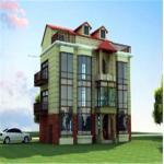 Buy cheap Luxury Light Steel Structure Villa Light steel villa product
