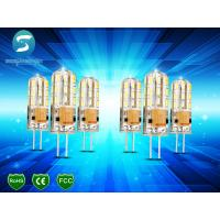 China Dimmable G4 Light Bulb LED Corn Crystal Lamp Lighting Silicone Body 95Lm / W on sale