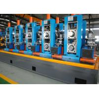 Buy cheap High Precision Full Automatic ERW Pipe Mill , Worm Gearing Max.80m/min product