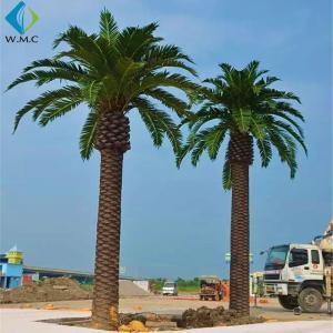 Buy cheap Custom Artificial Palm Trees Environmentally Friendly Beautiful Shape product