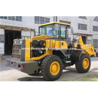Quality ZL30 Wheel Loader With 9800kg Overall Weight And 6890x2430x3070mm Overll Size for sale