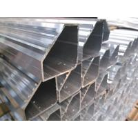 Quality Hollow Tube 5050 Aluminium Frame Profile With Silver Anodizing Surface Treatment for sale