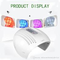 Buy cheap PDT LED light therapy face mask red blue purple light treatment 3 colors LED face beauty equipment acne remover product