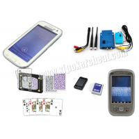 Buy cheap White Samsung S4 Mobile Phone Poker Cheat Device Marked Playing Cards Analyzer product