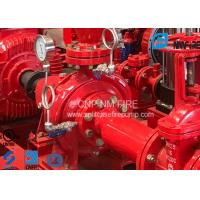 Buy cheap High Precision End Suction Fire Pump 115PSI 500usgpm For Fire Fighting product
