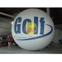 Quality White Fireproof reusable inflatable advertising helium balloons for Sporting events for sale