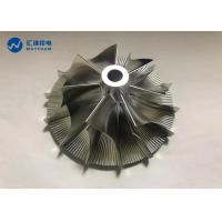 Wheel Rotor Impeller CNC Precision Components 5 Axis Machining Center for sale