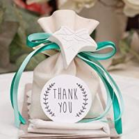 Drawstring Gift Bags made from Cotton Canvas Muslin for Wedding and Party Favors