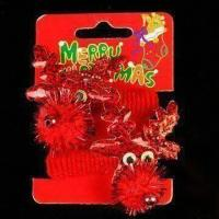 Buy cheap Hair Band with Decoration for Christmas Day, Made of Chemical Fabric, Pony-tail and Plastic product
