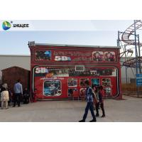 Buy cheap Amazing 7 D Movie Theater For Cabin With Poster SGS GMC Easy Installation product