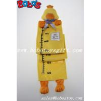 Buy cheap Hang Baby Yellow Duck Height Measurement Plush Animal Growth Chart product